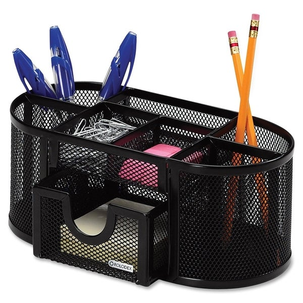 Trampoline Sale 55 8 11 12 13 14 15 17 X15 Oval: Rolodex Black Mesh 8-compartment Pencil Cup Organizer