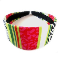 Crawford Corner Shop Striped Blossom Headband