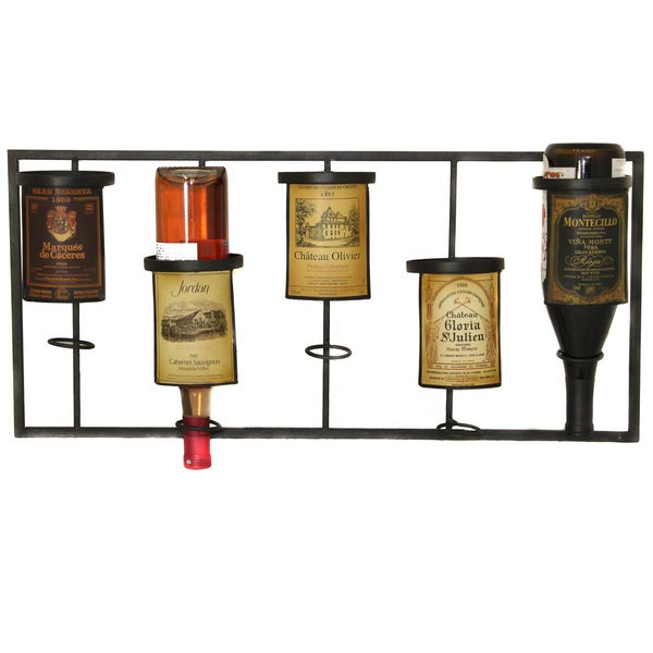Casa Cortes 5-bottle Wine Rack Holder
