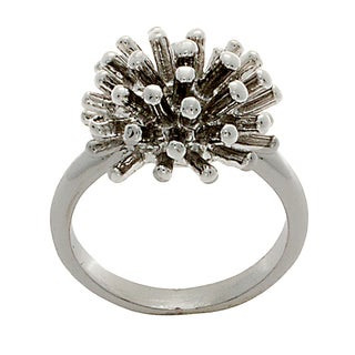 NEXTE Jewelry Silvertone Cattail Ring