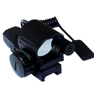 Wizard 1x33 4 Reticle Red Dot Sight w/Pressure Switch Combo