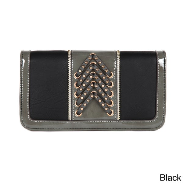 Nicole Lee 'Rene' Double Braid Bi-fold Wallet