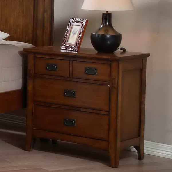 Tremont 4-drawer Nightstand