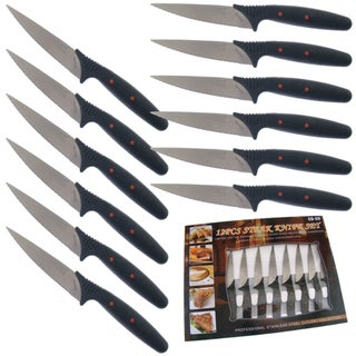 Chef Deluxe 12-piece Steak Knife Set