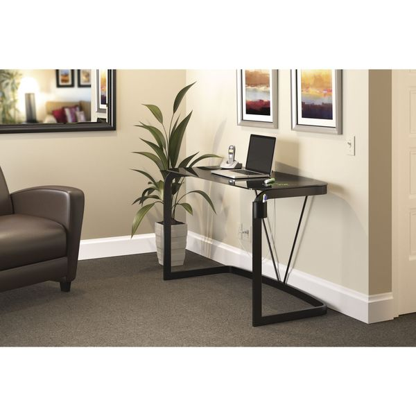 Bush Pictor 48-inch Metal and Glass Dry Erase Desk