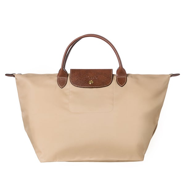 Longchamp u0026#39;Le Pliageu0026#39; Medium Sandy Foldable Handbag ...