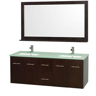 Wyndham Collection Daytona Double Bathroom Vanity Set