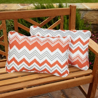 Tango Zazzle Corded Indoor/ Outdoor Throw Pillows (Set of 2)