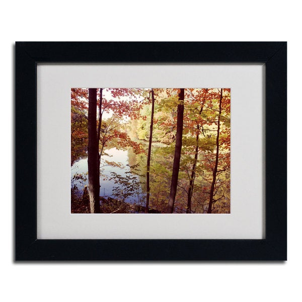 Kurt Shafer 'A Secret Pond' Framed Matted Art