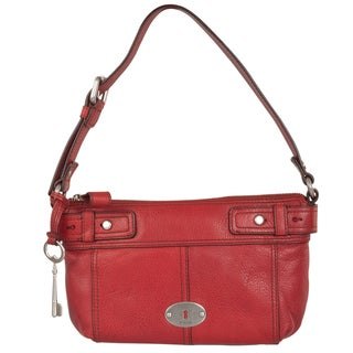 Fossil 'Maddox' Leather Top-zip Shoulder Bag