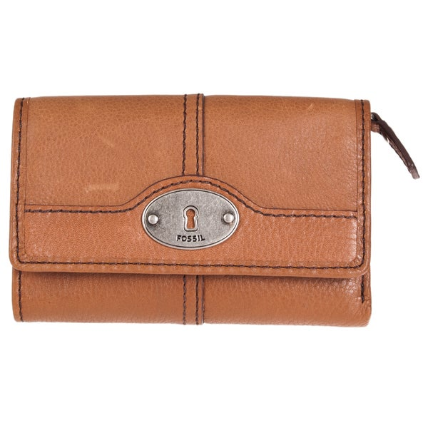Fossil Women's 'Marlow' Brown Leather Multifunction Wallet