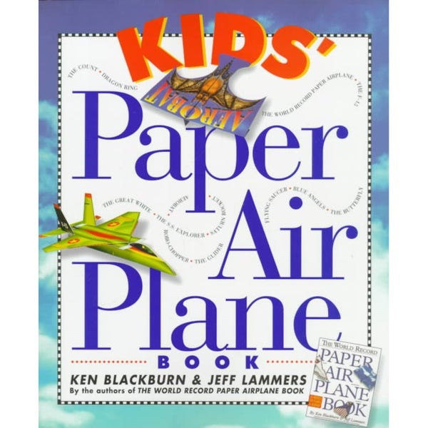 Kids' Paper Airplane Book (Paperback)