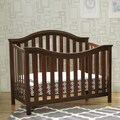 DaVinci Goodwin 4-in-1 Convertible Crib with Toddler Rail in Espresso