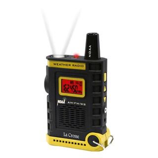 La Crosse 810-805 Handheld AM/FM/Weather Band NOAA Weather Radio