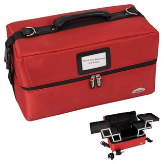 Sunrise Red Soft Sided Makeup Case