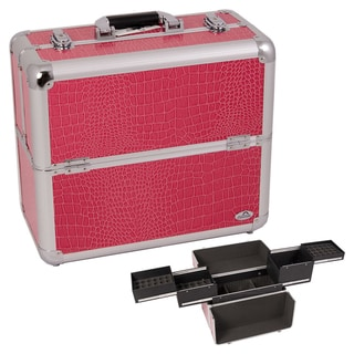 Casemetic Hot Pink Aluminum Makeup Case