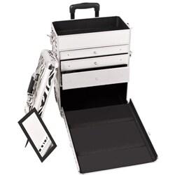 Sunrise Zebra Rolling Makeup Case