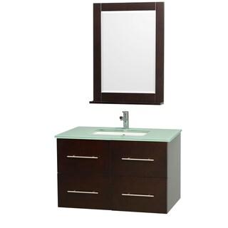 Centra Espresso 36-inch Single Bathroom Vanity Set