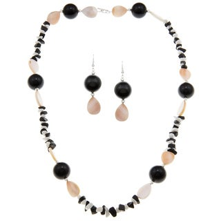 Karla Patin Pearl Necklace Set