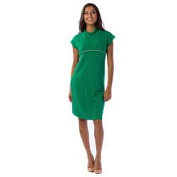 AtoZ Women's Mod Cowl Tunic Dress