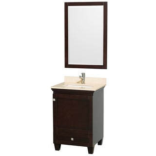 Acclaim Espresso/ Ivory 24-inch Single Bathroom Vanity Set