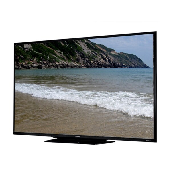 "Sharp AQUOS LC-90LE745U 90"" Factory Refurbished 3D 1080p LED-LCD TV - 16:9 - HDTV 1080p -"