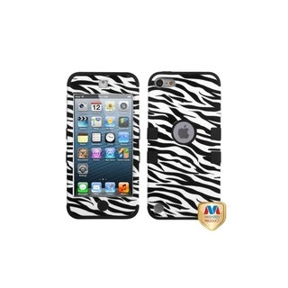 MYBAT Zebra/ Black TUFF Hybrid Case for Apple� iPod Touch Generation 5