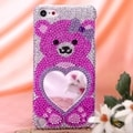 MYBAT Pink Bear Heart Mirror Case for Apple� iPod Touch Generation 5