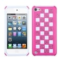 ASMYNA Pink/ White Diamond Case for Apple iPod Touch Generation 5