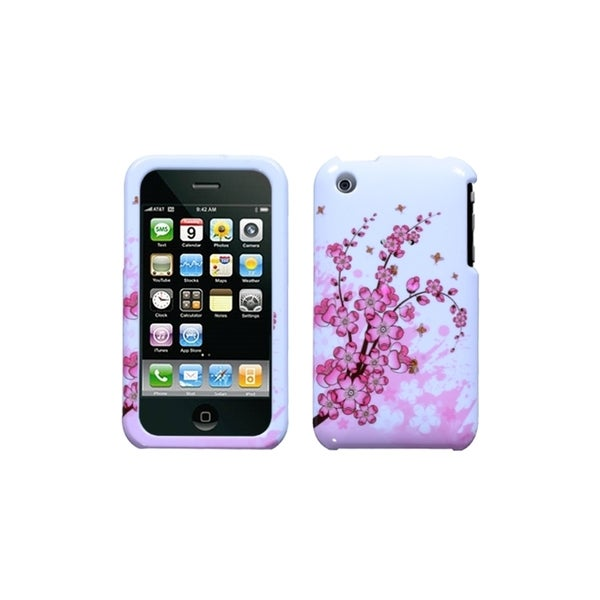 MYBAT Spring Flowers Phone Case Cover for Apple® iPhone 3G/ 3GS