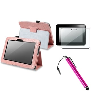 BasAcc Case/ Screen Protector/ Stylus for Amazon Kindle Fire HD 7-inch