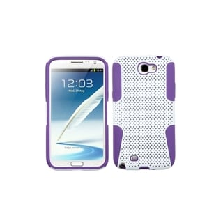 ASMYNA White/ Purple Astronoot Case for Samsung Galaxy Note II T889