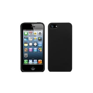 MYBAT Black Case for Apple iPhone 5