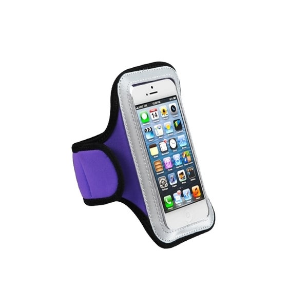 MYBAT Purple Sportband for Apple iPhone 5