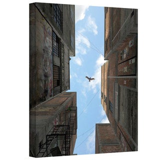 Cynthia Decker 'Afternoon Alley' Gallery Wrapped Canvas