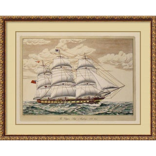 The Clipper Ship, Anglesey, 1150 Tons' Framed Art Print