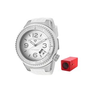 Swiss Legend Men's 'Neptune' White Silicone Watch