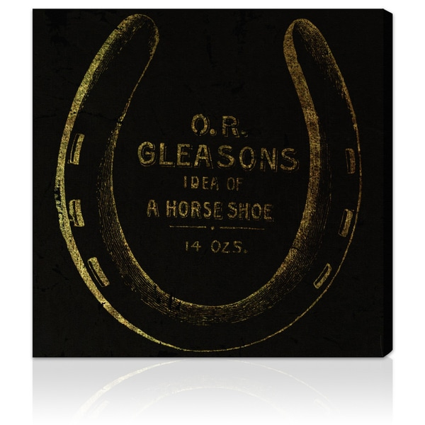 Oliver Gal 'Gleasons Horse Shoe' Canvas Art Print