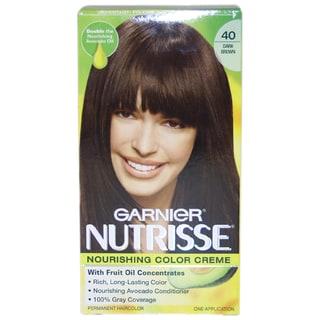 Garnier Nutrisse Nourishing Color Creme #40 Dark Brown Hair Color