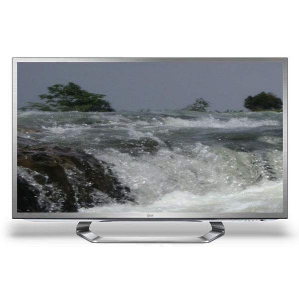"""LG 55G2 55"""" Factory refurbished 3D 1080p LED-LCD TV with Google TV in Chrome (Refurbished)"""