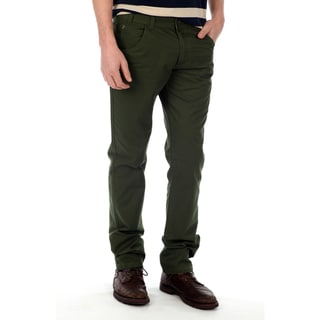 191 Unlimited Men&#39;s Hunter Green Straight Leg Pants