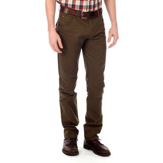 191 Unlimited Men&#39;s Brown Straight Leg Pants