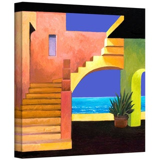 Rick Kersten 'Casa del Mar' Gallery Wrapped Canvas