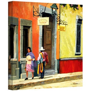 Rick Kersten 'Streets of Mexico' Gallery Wrapped Canvas