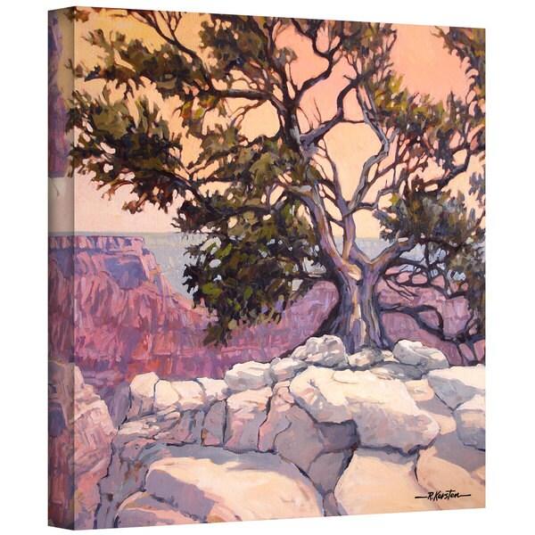 Rick Kersten 'North Rim Tree' Gallery Wrapped Canvas 10883114