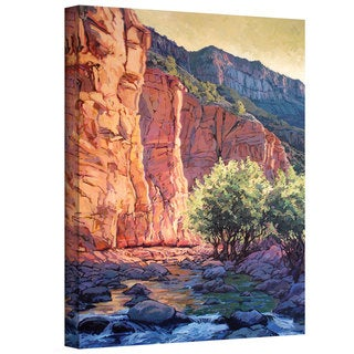 Rick Kersten 'The West Fork' Gallery Wrapped Canvas