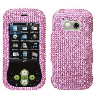 MYBAT Pink Diamante Protector Case Diamante 2.0 for LG GT365 Neon