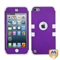 MYBAT Grape/ White TUFF Hybrid Case for Apple iPod Touch Generation 5
