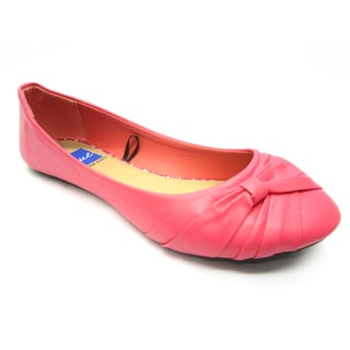 Blue Women's 'Dope' Coral Wrapped Flats