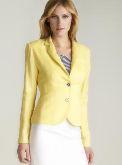 Premise Two-button Linen Jacket